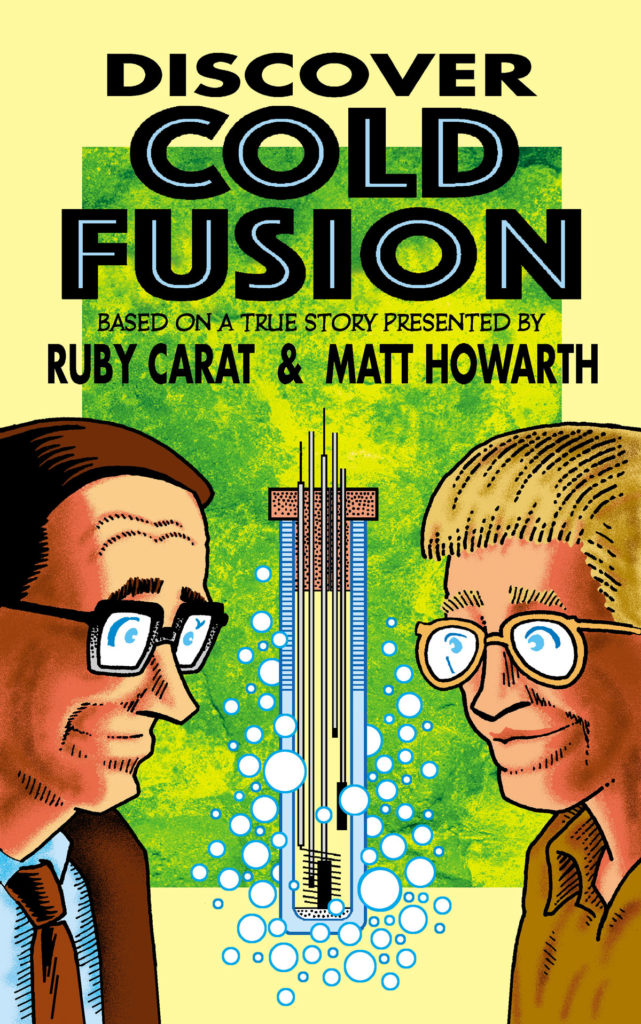 Discover Cold Fusion Graphic Novel Cover